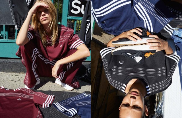 A look from Adidas Originals by Alexander Wang.
