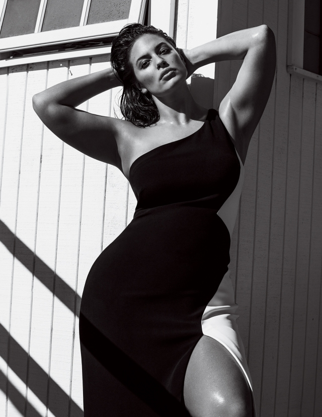 Ashley Graham in March Vogue.