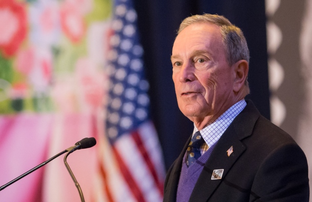 Michael Bloomberg in 2017
