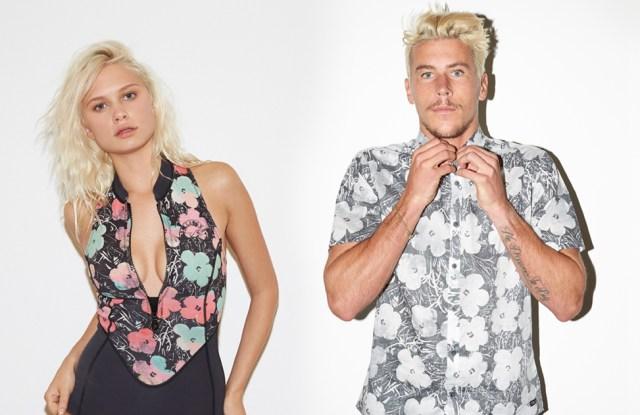 Billabong's Warhol Surf collection