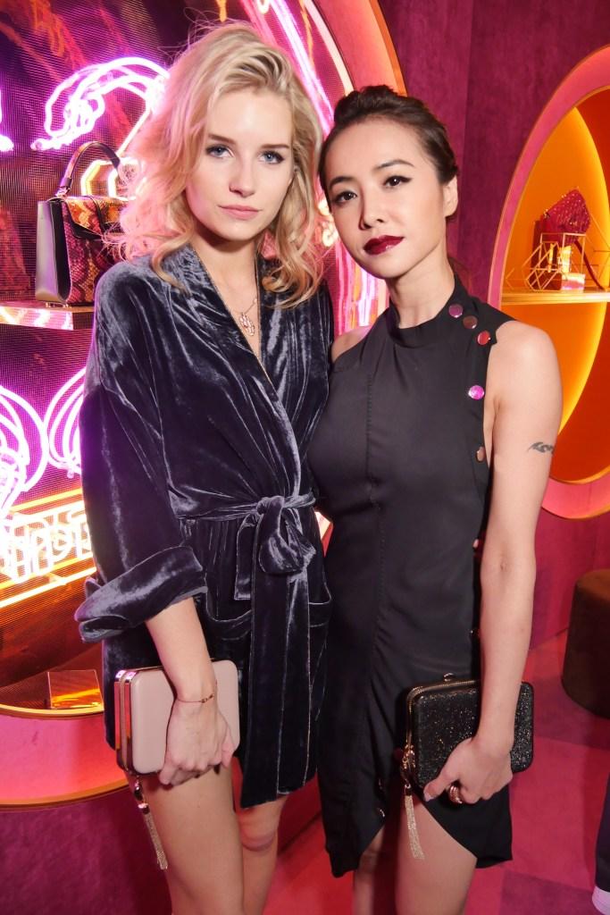 Lottie Moss and Jolin Cai