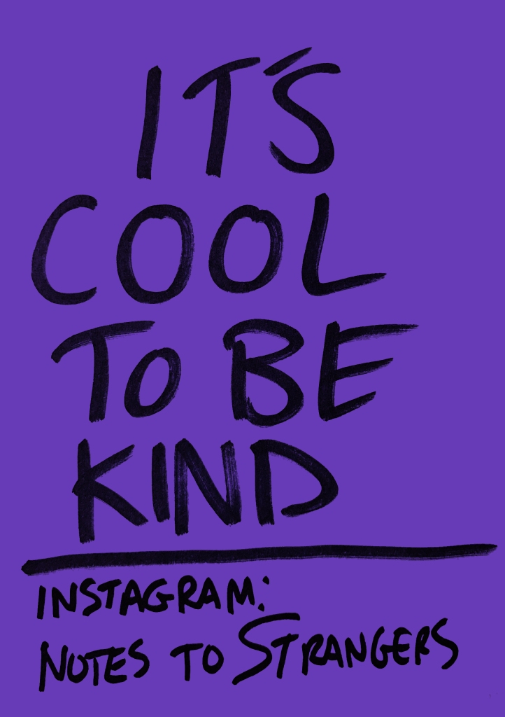 """A visual from the Browns """"Cool to be Kind"""" campaign"""