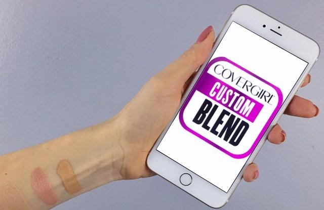 CoverGirl Custom Blend App