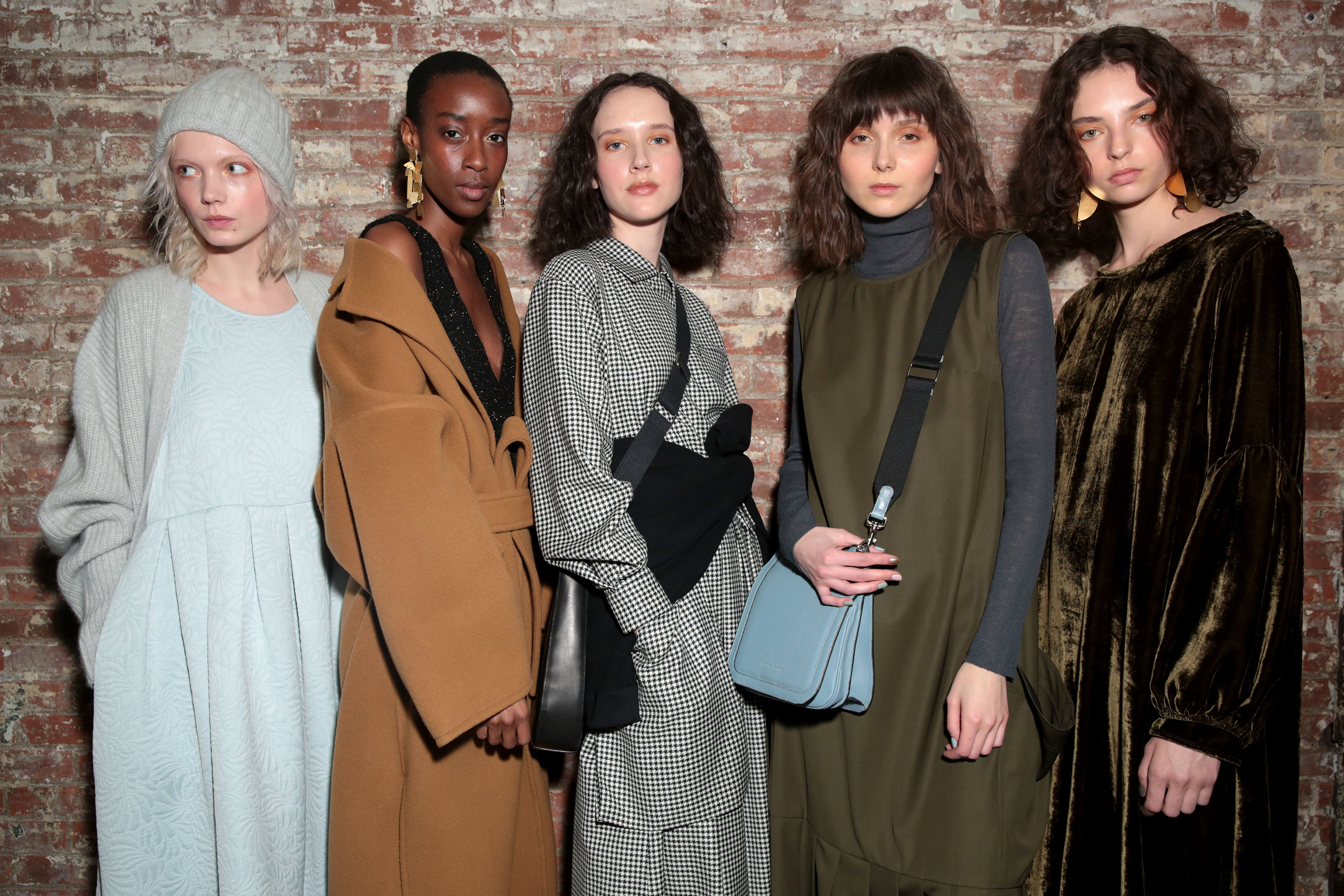 Backstage at Creatures of Comfort RTW Fall 2017