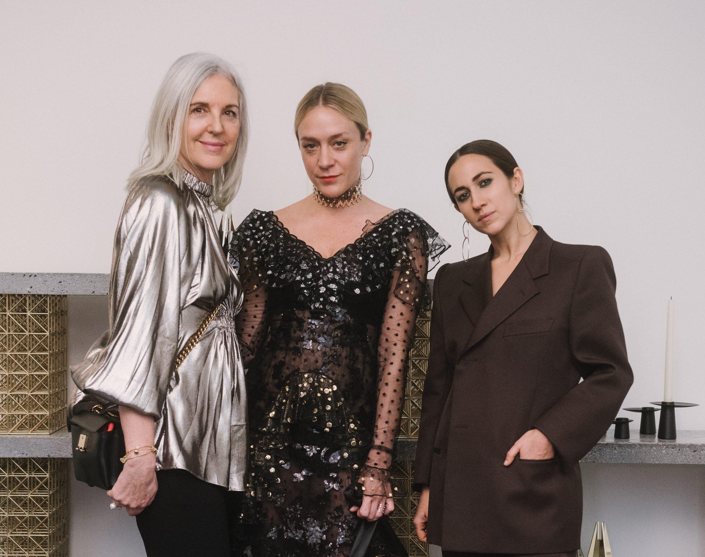 Ruth Chapman, Chloë Sevigny and Delfina Delettrez.