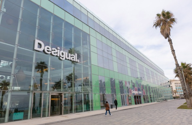 The Desigual Barcelona headquarters.