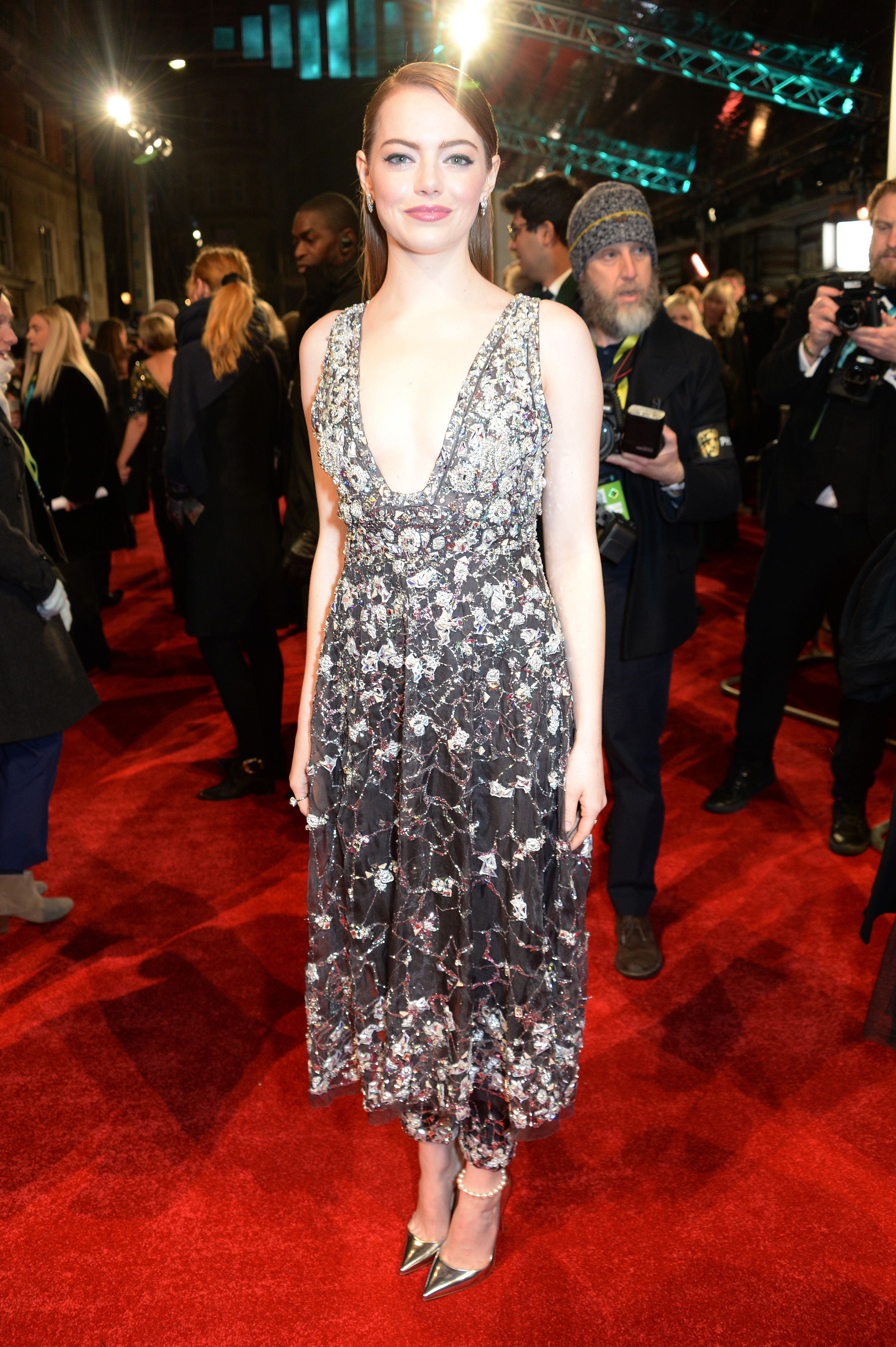 Emma Stone 2017 BAFTA film awards