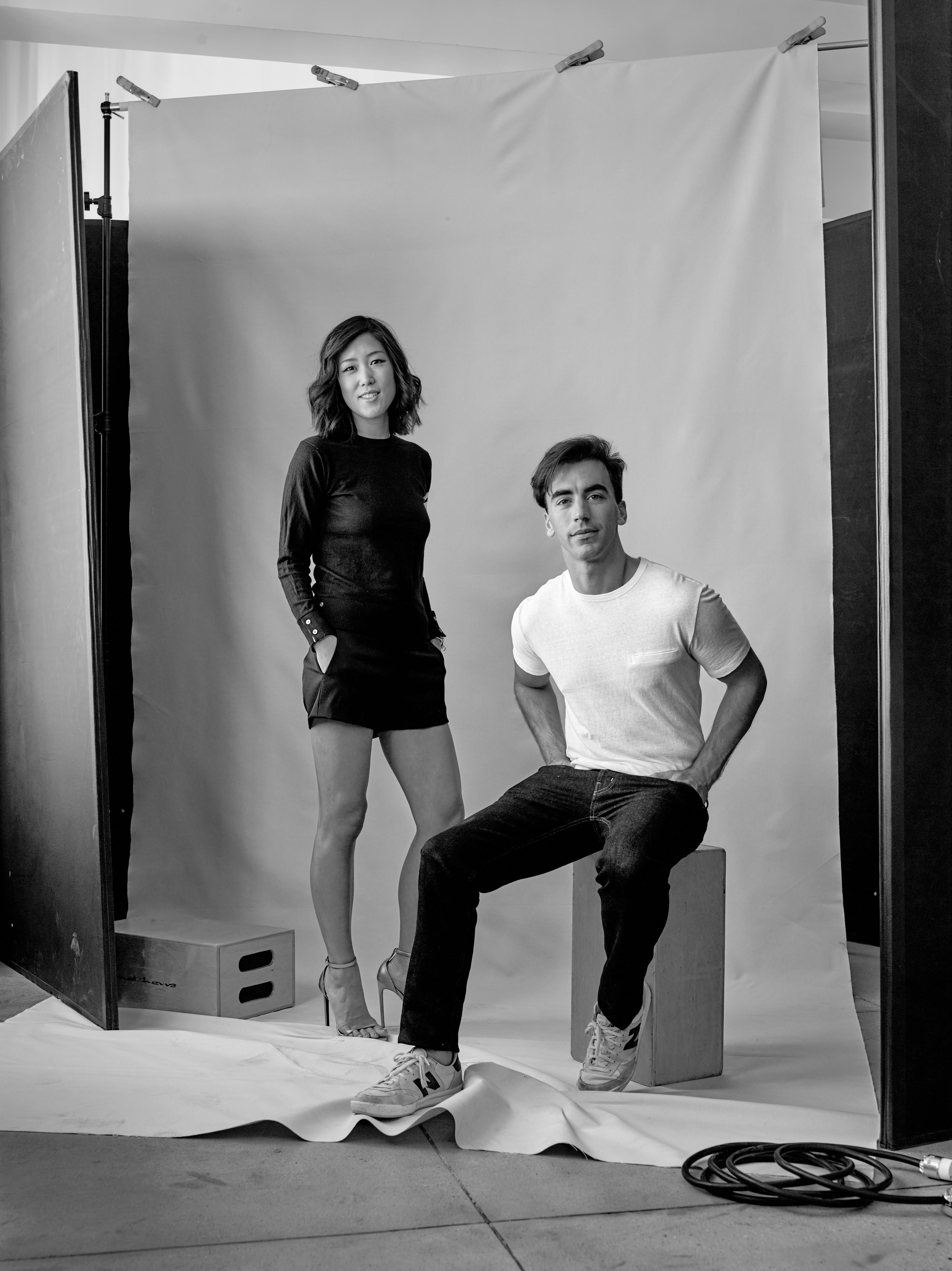 Laura Kim and Fernando Garcia