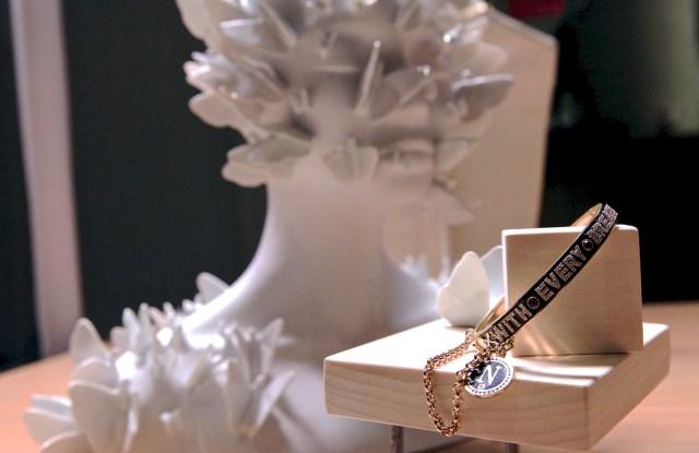 A Foundrae jewelry presentation.