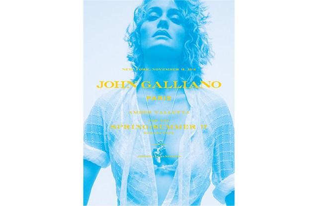 Amber Valletta Fronts New John Galliano Ad Campaign