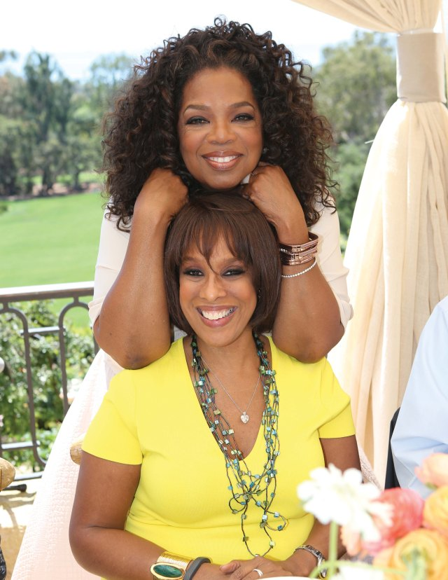 Oprah and Gayle King