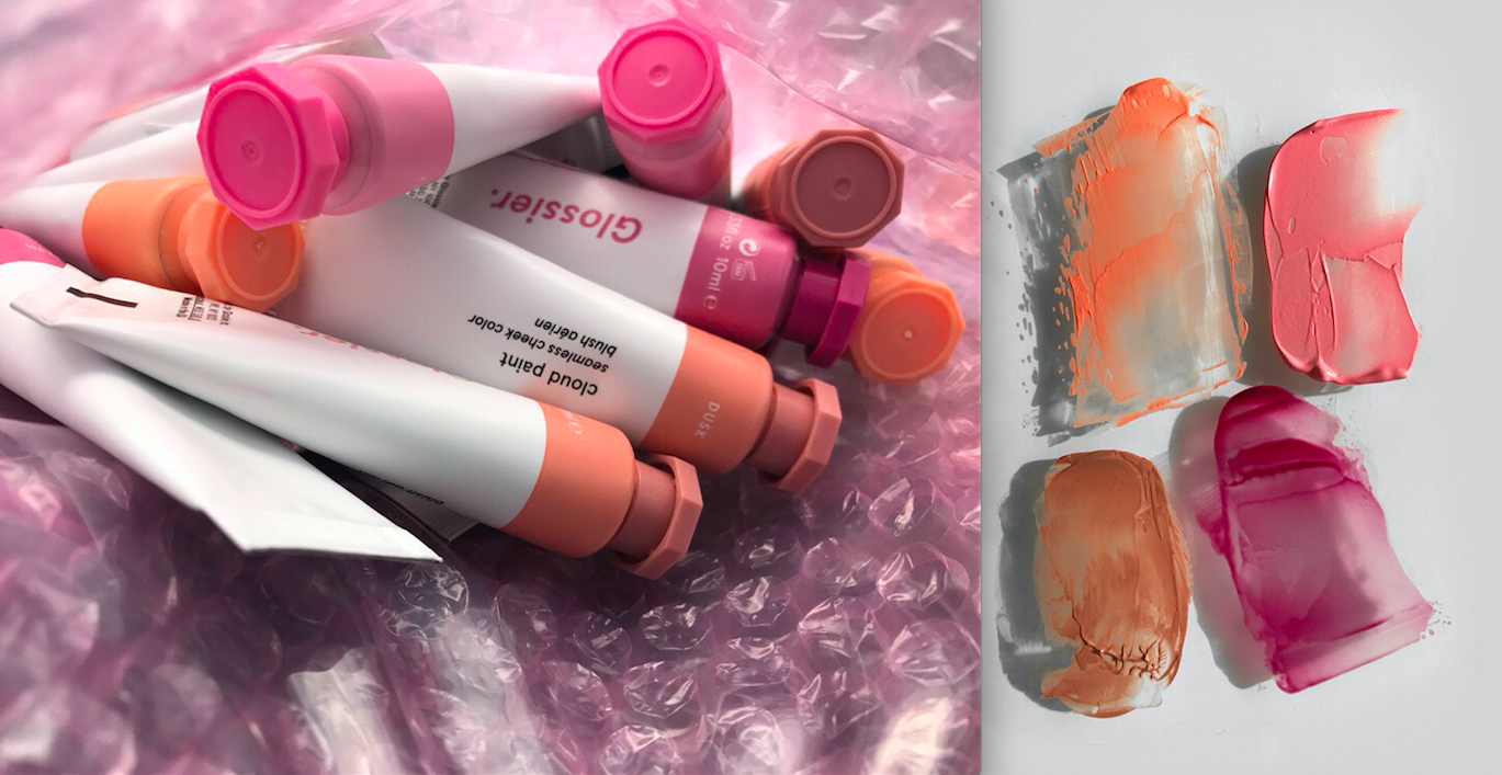 Glossier will debut Cloud Paint, a gel-cream blush, during the Oscar's red carpet.
