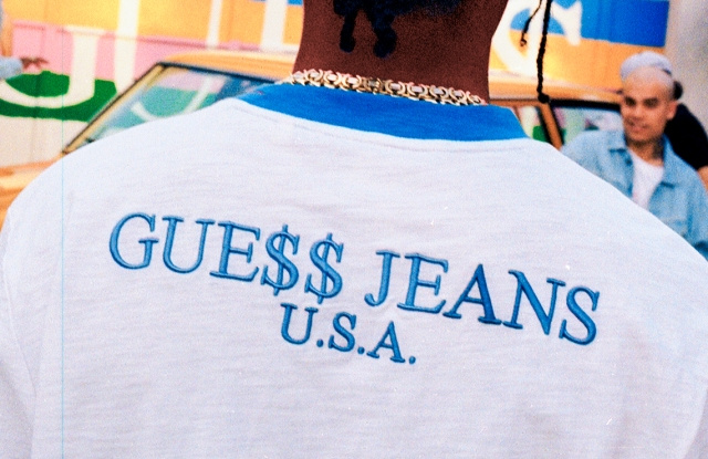 A$AP Rocky Guess Club ad campaign image