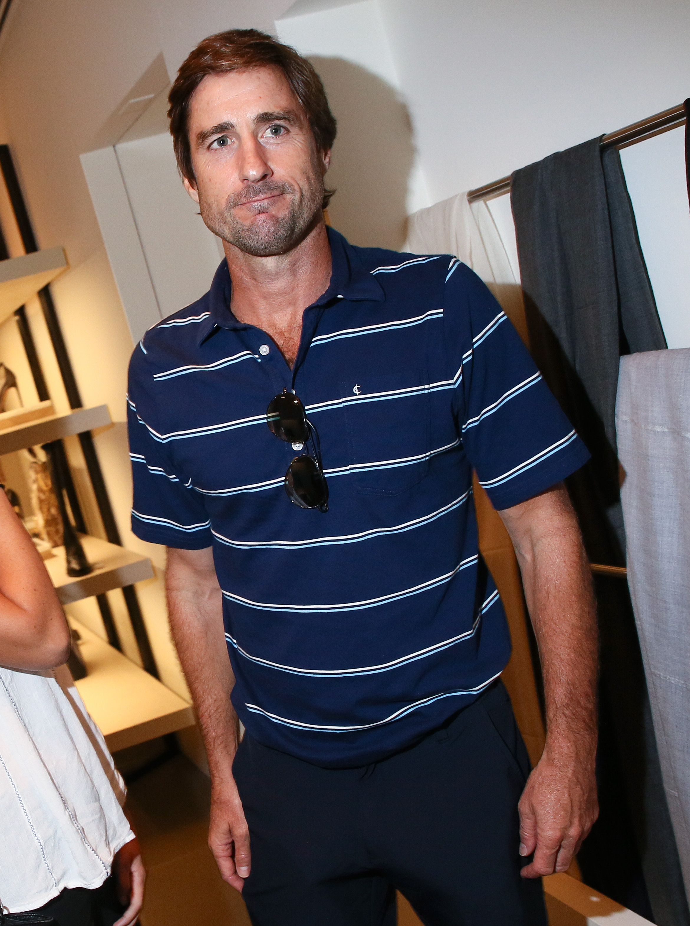 Luke Wilson in Criquet