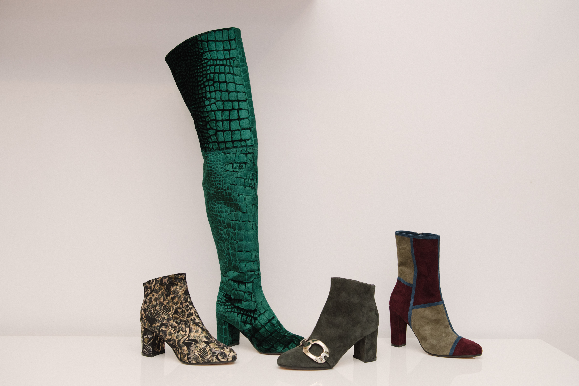 Boots from Jean Michel Cazabat Fall Collection