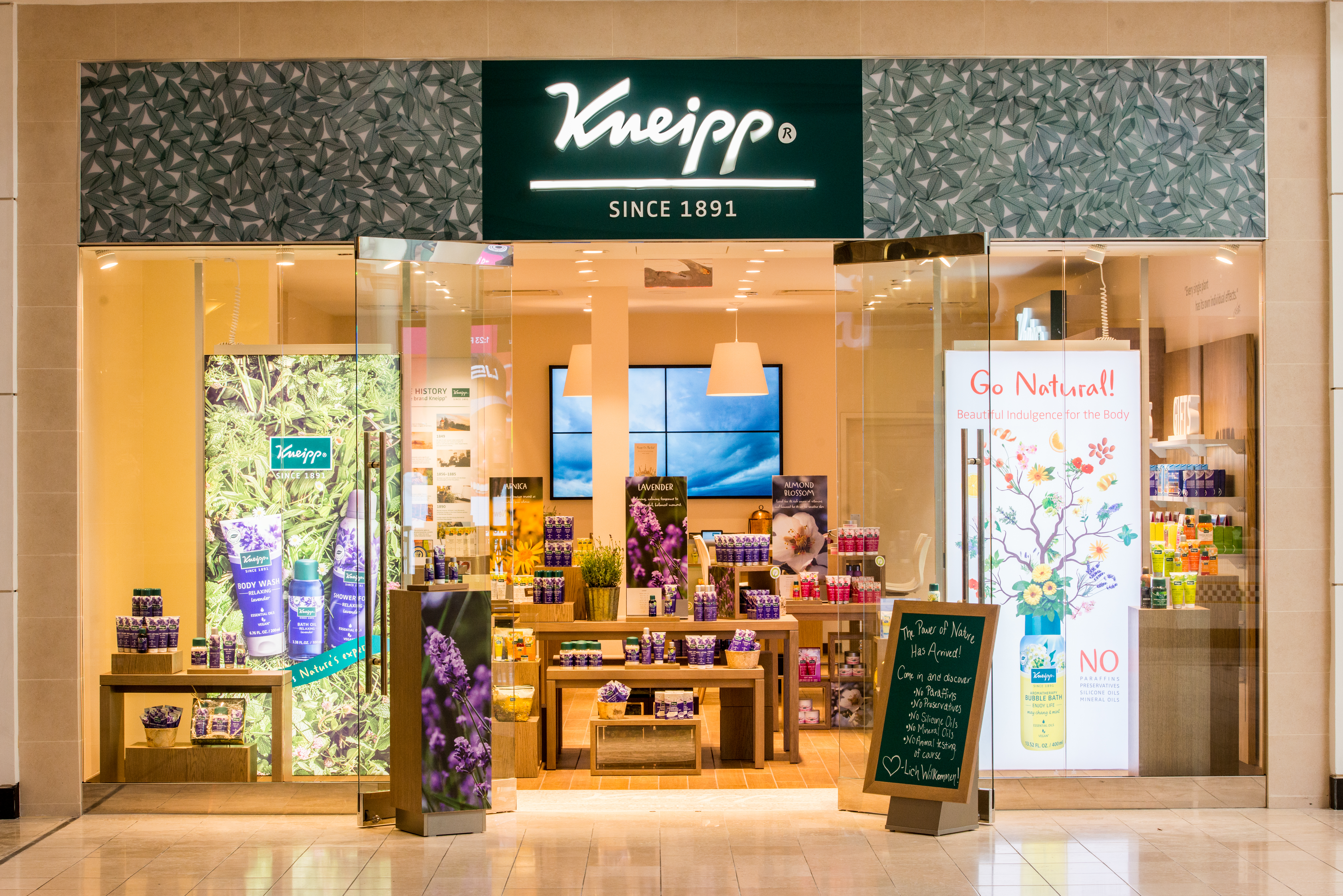 Kneipp's King of Prussia store