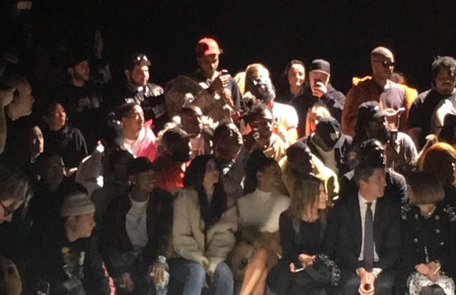 Kylie Jenner at Yeezy Season 5