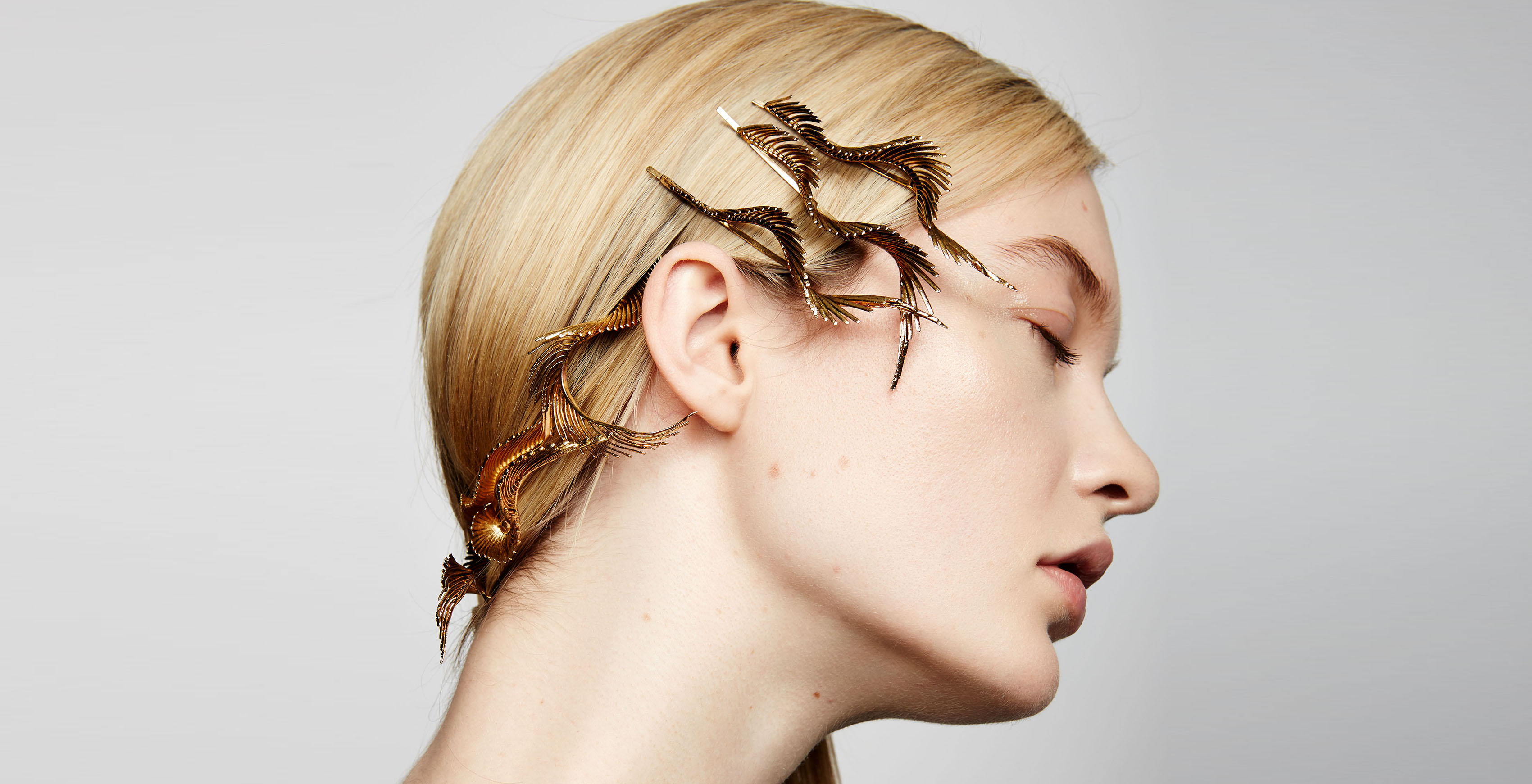 Adir Abergel and Lelet NY collaborate on a 15-item hair accessory range.