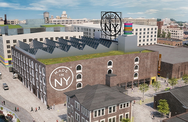 A rendering of the Made in New York Campus.