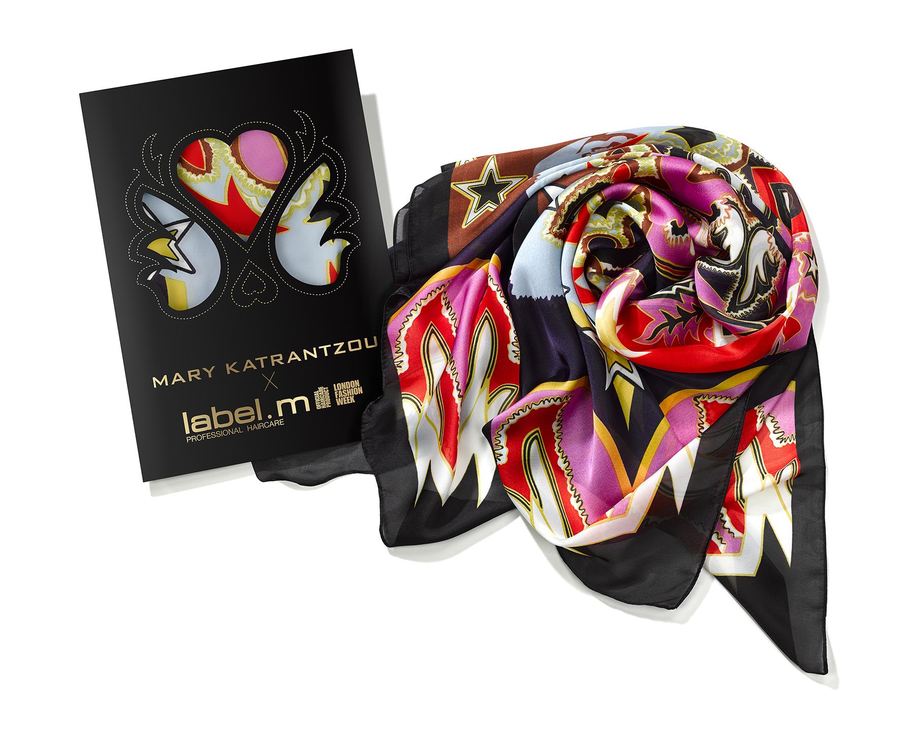 The Mary Katrantzou x Label.m scarf