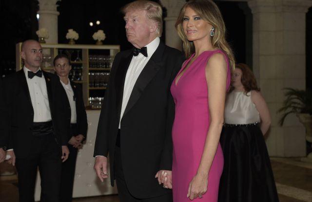 First Lady Melania Trump in Dior