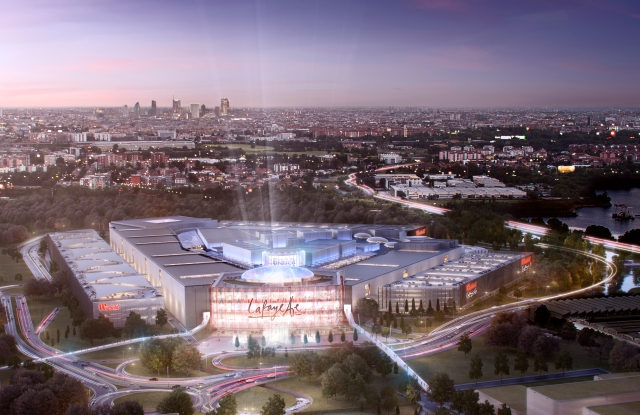 A rendering of Westfield Milan, set to open in 2019.