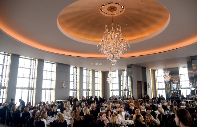 The atmosphere at the Society of Memorial Sloane Kettering's Winter Lunch.