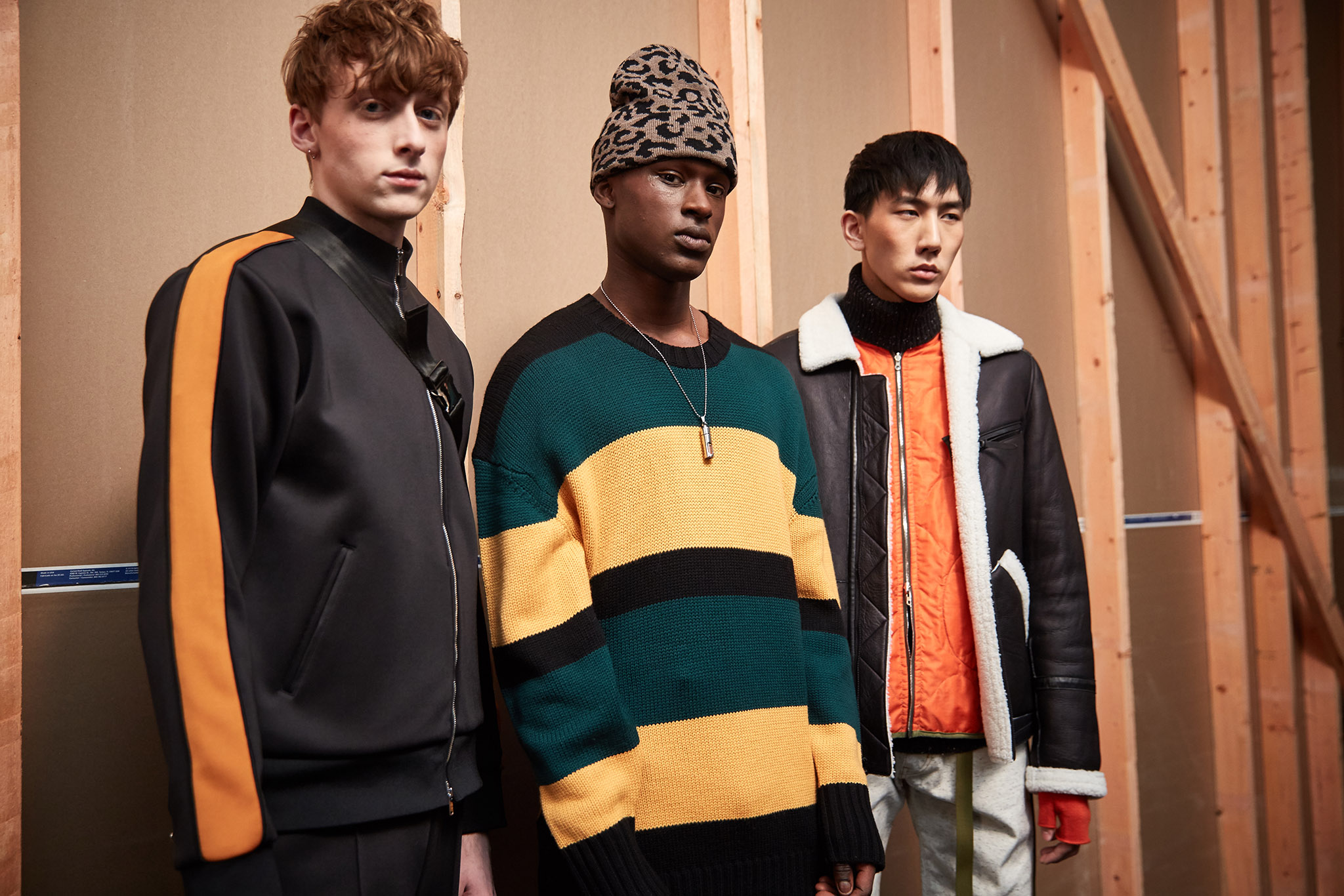 Backstage at Ovadia and Sons Men's Fall 2017