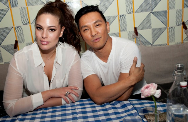 Ashley Graham and Prabal Gurung