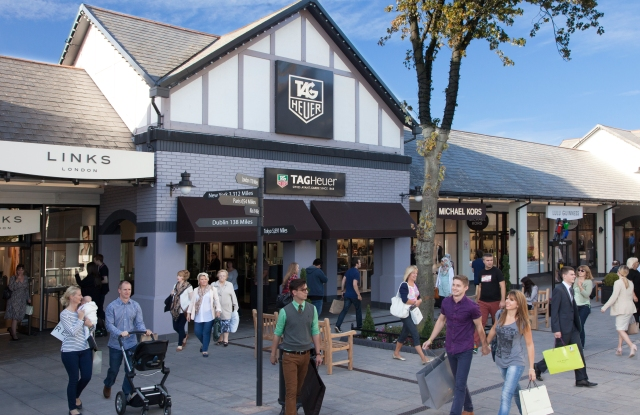 The McArthurGlen outlet in Cheshire Oaks