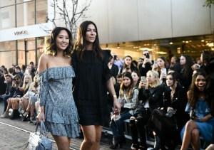 Aimee Song Rebecca Minkoff L.A. runway show