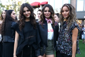 Victoria Justice, Maddie Justice and Jamie Chung