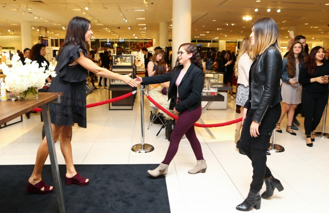 Rebecca Minkoff meet and greet at Nordstrom