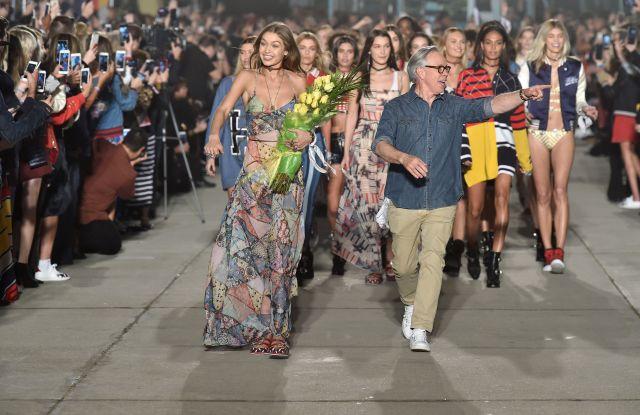 Tommy Hilfiger Gigi Hadid Spring 2017 fashion show Los Angeles
