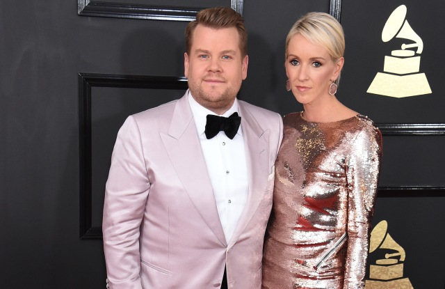 James Corden in Tom Ford Julia Carey Grammy Awards Fashion 2017