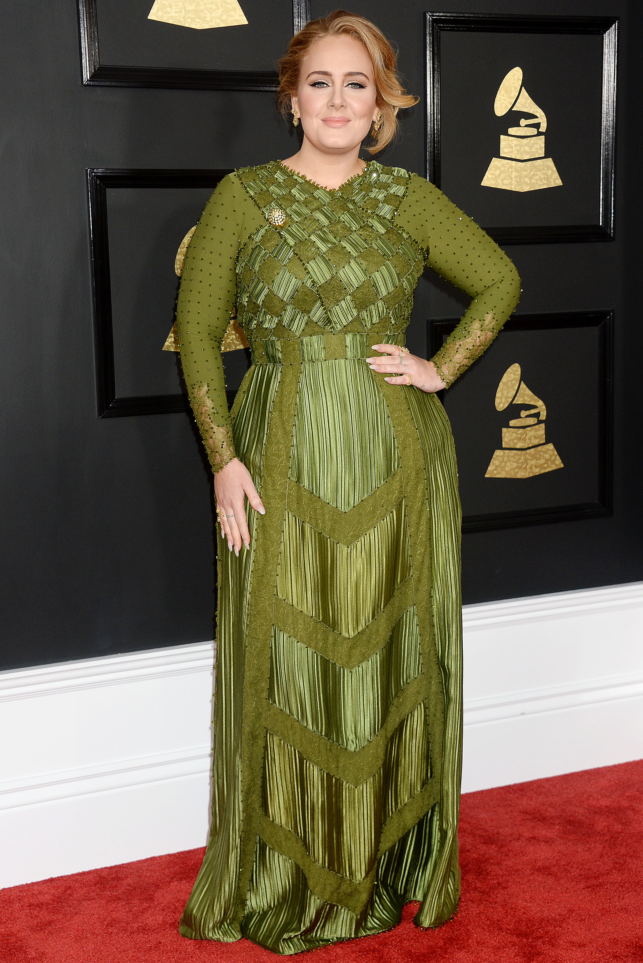 Adele in Givenchy Haute Couture Grammy Awards Fashion 2017