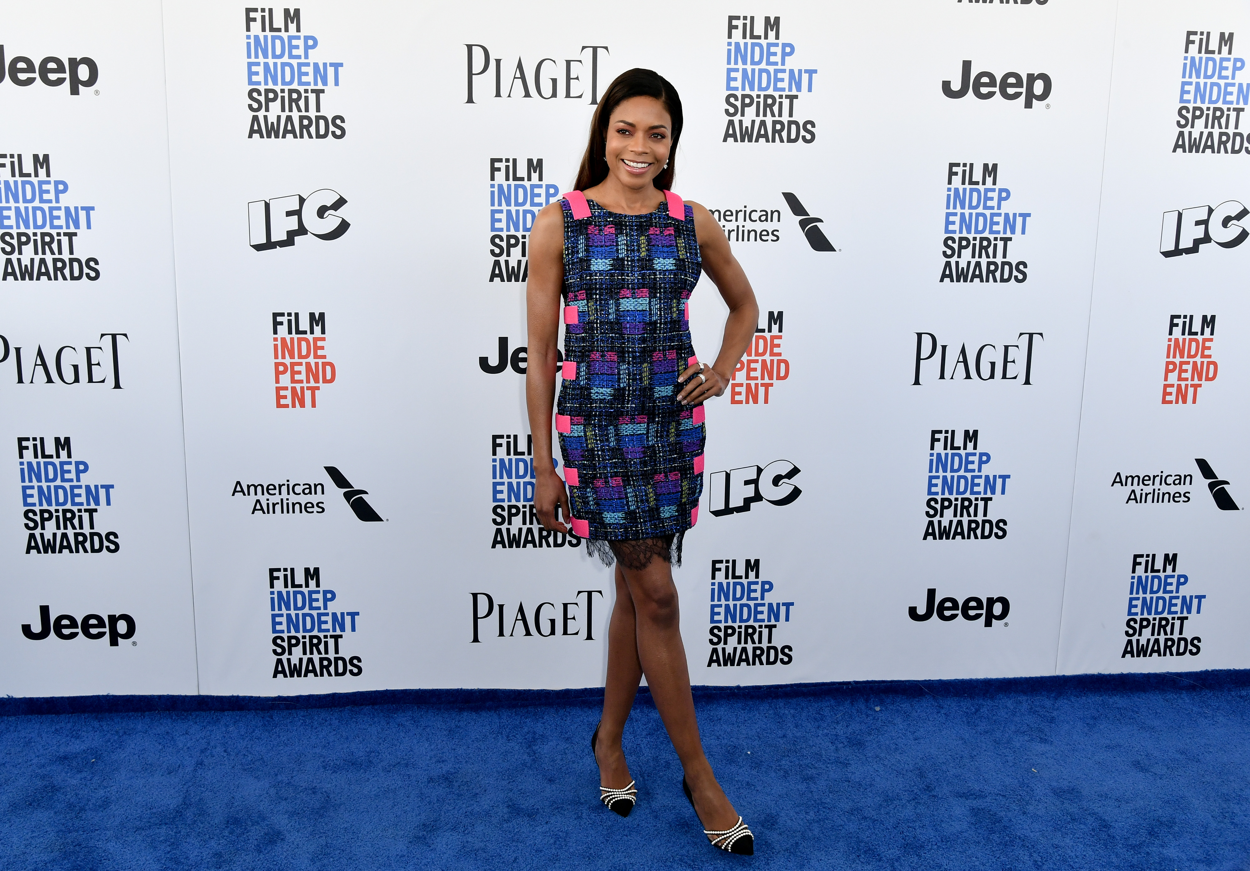 Naomie Harris in Chanel 32nd Film Independent Spirit Awards, Arrivals, Santa Monica, Los Angeles, USA - 25 Feb 2017