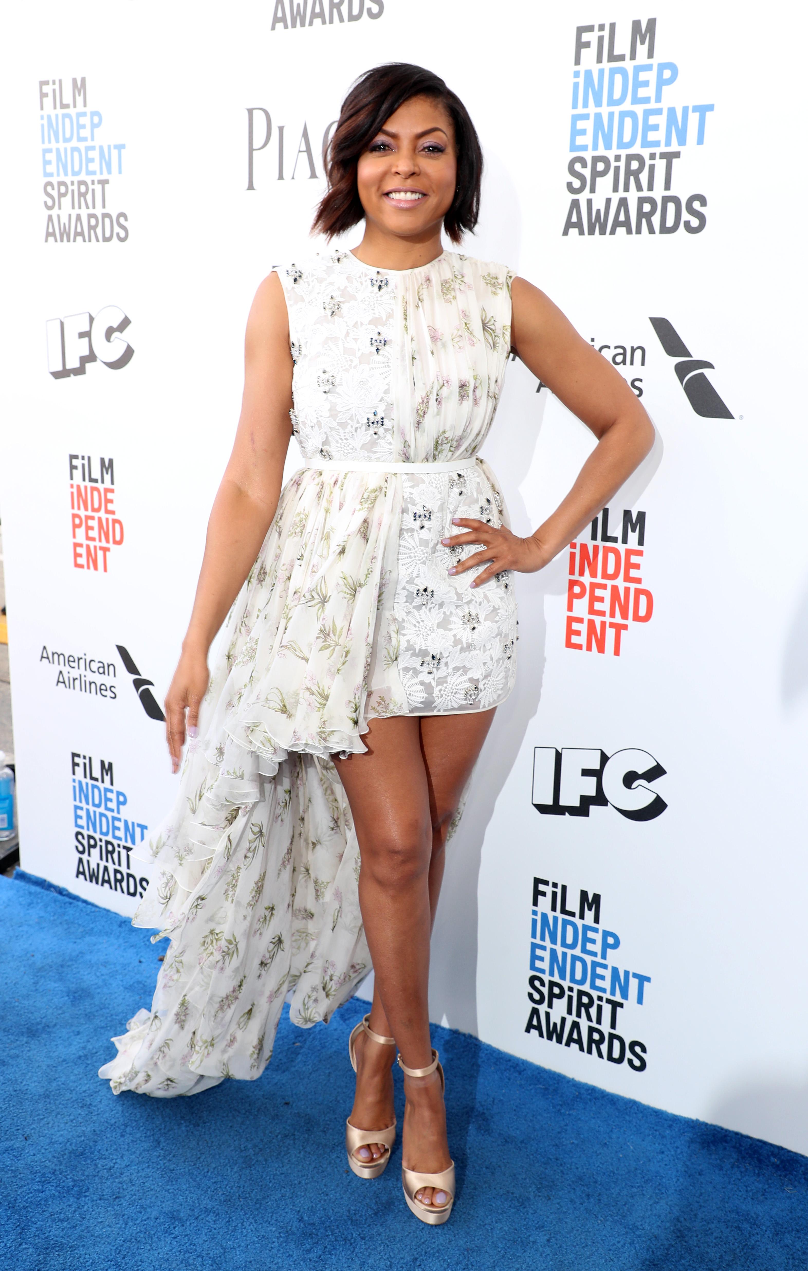 Taraji P. Henson in Giambattista Valli 32nd Film Independent Spirit Awards, Arrivals, Santa Monica, Los Angeles, USA - 25 Feb 2017