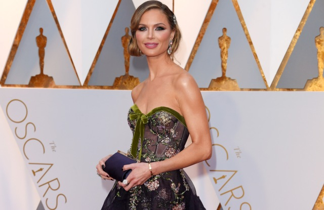 Georgina Chapman at the 2017 Oscars