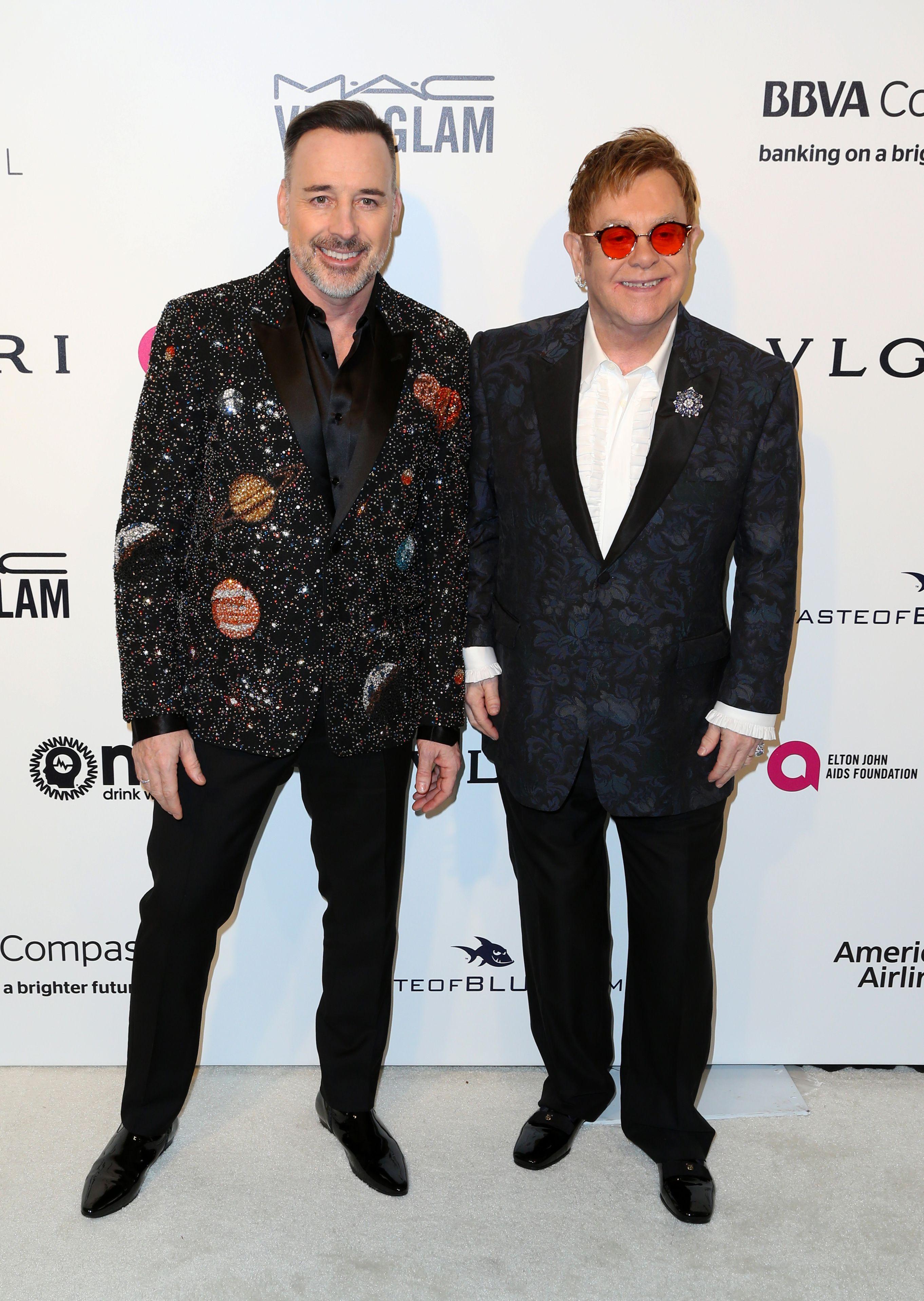 Sir Elton John and David FurnishElton John AIDS Foundation Academy Awards Viewing Party, Los Angeles, USA - 26 Feb 2017