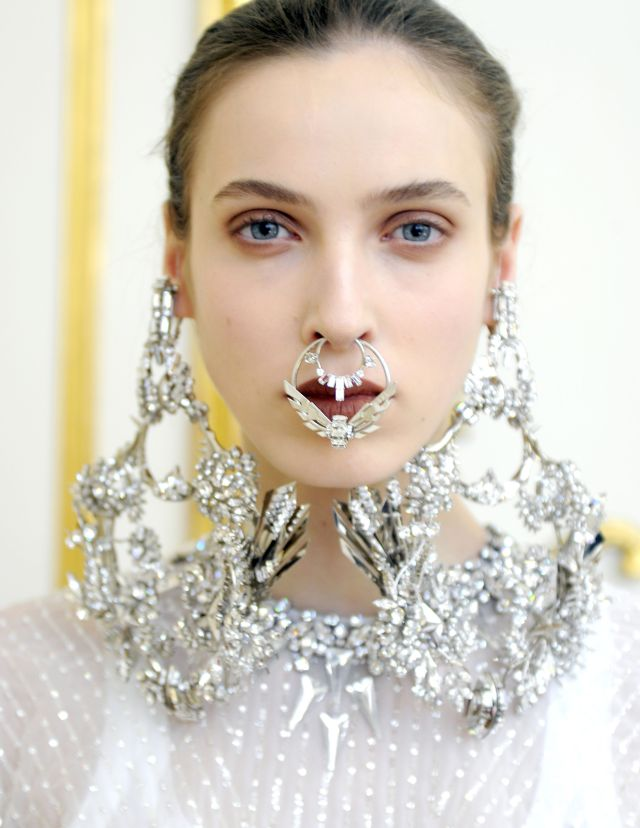 givenchy jeweled face spring 2012