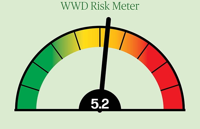 The WWD Risk Meter, a survey of experts, found significant risk building retail.