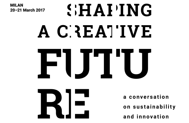 "The ""Shaping a Creative Future"" poster"