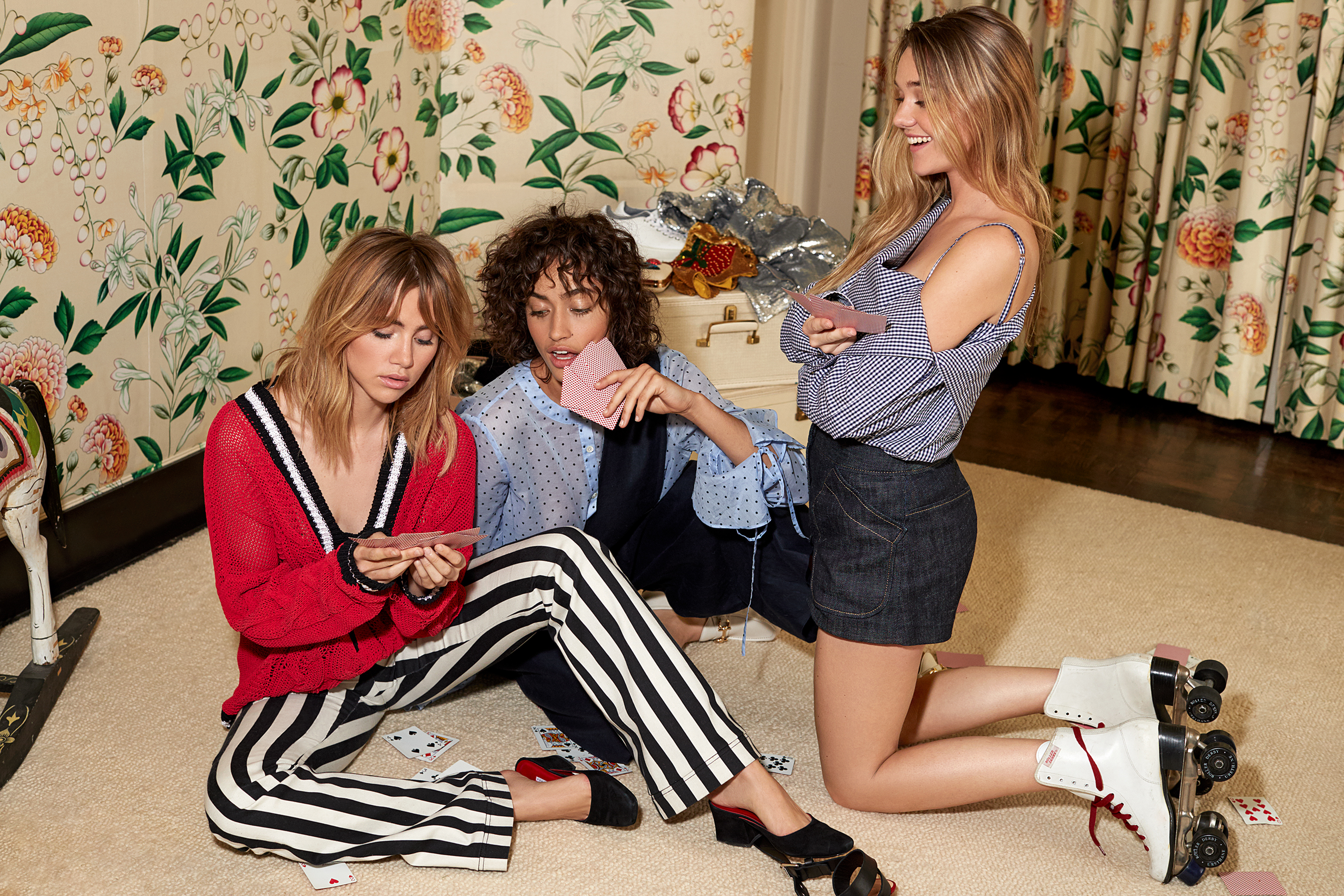 A visual from Shopbop's spring 2017 campaign