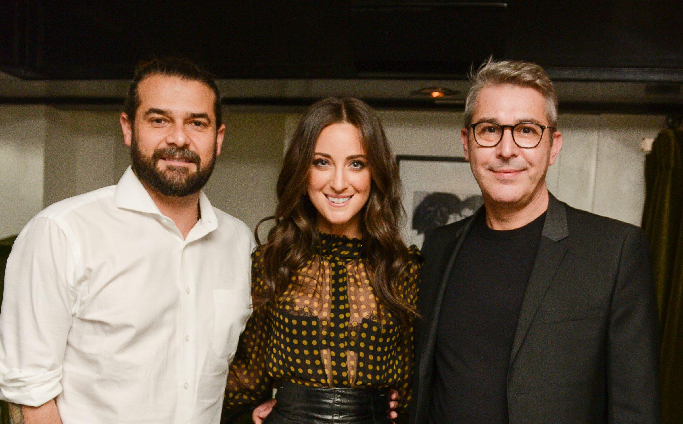 Sisco Sintes, Micaela Erlanger and Silvano Banfi.