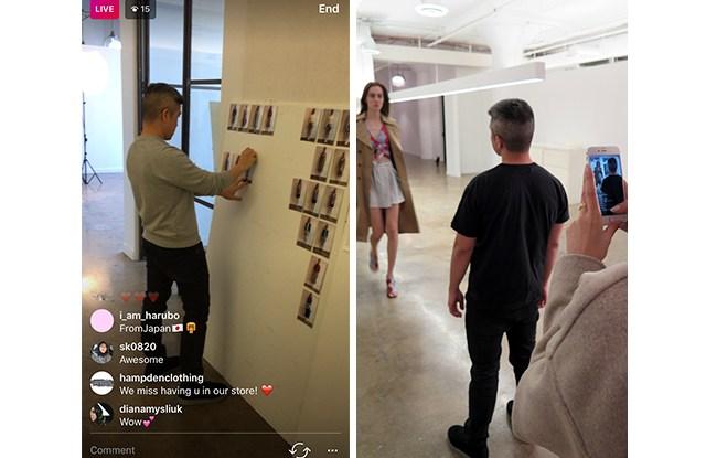 Thakoon Instagram Live