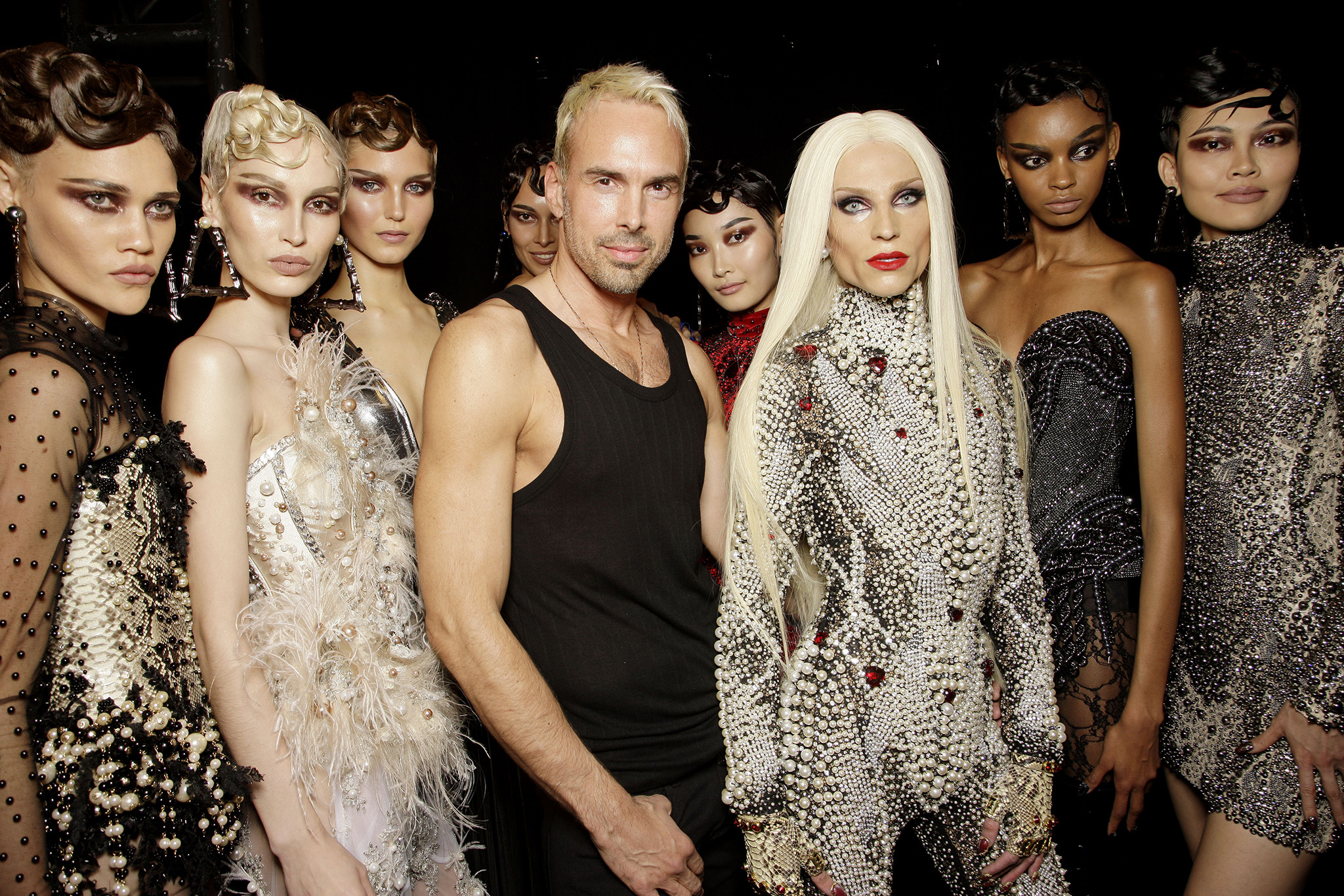 Backstage at The Blonds presented by Made RTW Fall 2017
