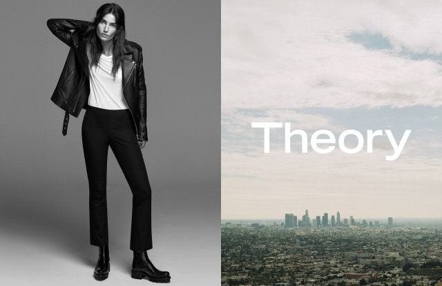 The Theory spring 2017 campaign.