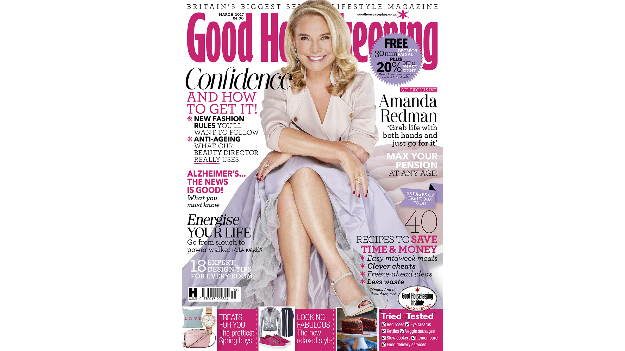 The cover of Good Housekeeping U.K.
