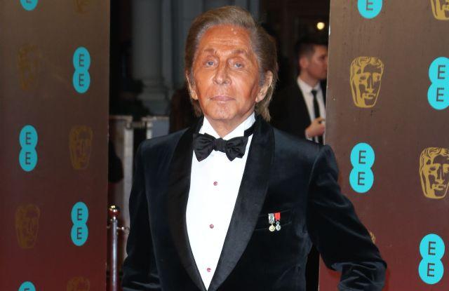 Valentino Garavani 2017 BAFTA film awards